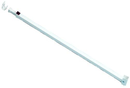 Ideal Security SK110W Patio Adjustable Door Security Bar, White