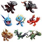 How To Train Your Dragon Playset 8 pcs Action Figure 2.5 -