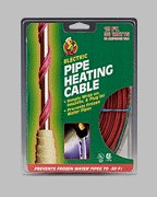 Electric Pipe Heating Cable 18' Long 36 Watt by Helkel