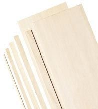 Alvin BS1132 Wide Balsa Wood Sheets (3