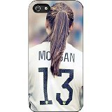 Uswnt - Alex Morgan iPhone 5/5s Case (Black Rubber)