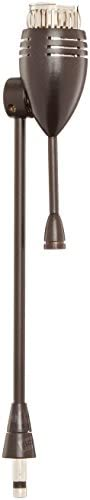 WAC Lighting QF-194X6-DB Ego Quick Connect Fixture with 6-Inch Extension, Dark Bronze