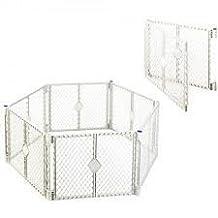 North States Classic Superyard Baby/Pet Gate & Portable Play Yard - 8 Panel