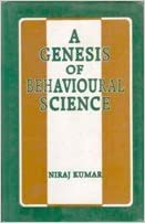 Book A Genesis Of Behavioural Science (Pb)
