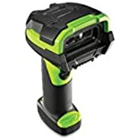 Zebra Enterprise LI3678-SR0F003VZWW LI3678 Barcode Scanner, Standard Range 1D Linear Imager, Cordless, Fips, (Requires Cradle, Cable Power) Vibration Motor, Industrial green