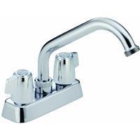 Delta Faucet 2131 Classic Two Handle Laundry Faucet, Chrome