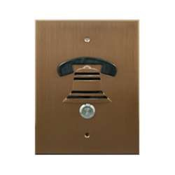 DoorBell Fon DP38 Extra Door Station, Nutone Mount, Bronze (DP38-NBZN) by DoorBell Fon