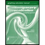 Contemporary Precalculus : A Graphing Approach, Hungerford, Thomas W., 0030260485