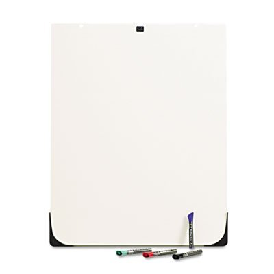 Quartet DuraMax Total Erase Whiteboard Add-on Accessory for DuraMax Easel (210TEA) by Quartet