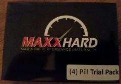 MAXXHARD Add inches to your Penis and increase Size, Girth, and last longer (Trial Pack 4 Capsules) #1 in 20 - Erectile Dysfunction Cialis