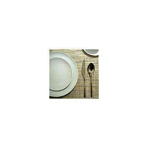 Chilewich Basket Weave Rectangular Placemat, 14 by 19-Inch, Denim
