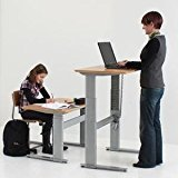 Amazoncom Electric Height Adjustable Office Desk 40 x 29