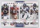 Foster Frank - Arian Foster; Frank Gore; Marshawn Lynch; Willis McGahee (Football Card) 2012 Playoff Prestige - League Leaders #19