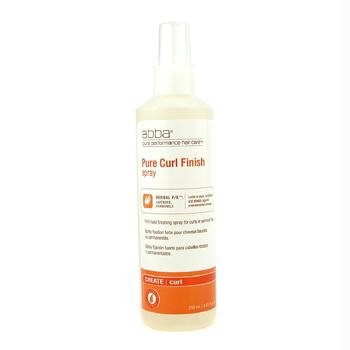 ABBA Pure Curl Finish Firm Hold Finishing Spray (For Curly or Permed Hair) - (Abba Pure Curl Finish)