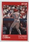 Barry Larkin (Baseball Card) 1990 Star Barry Larkin - [Base] #3