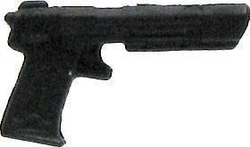 GI Joe 3 3/4 Inch LOOSE Action Figure Accessory Black Energy Pistol