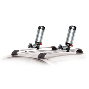 Yakima BowDown Rooftop Kayak Rack with Tie Down