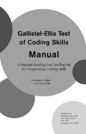 Download Gallistel-Ellis Test of Coding Skills-- Complete Kit PDF