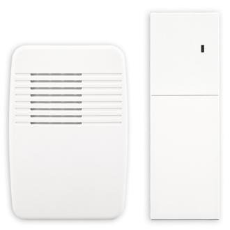 Heathco SL-7357-02 White Wireless Plug-In Door Chime Extender
