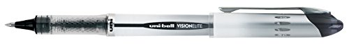 uni-ball Vision Elite Rollerball Pens, Bold Point (0.8mm), Black by Uni-ball (Image #3)
