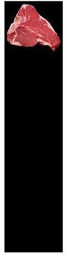 Bagcraft Papercon 116008 Steak and Market Paper, 30'' Length x 8'' Width, Black (Case of 1000)