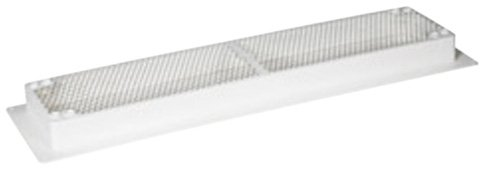Camco 42161 Refrigerator Vent Base (White) by Camco