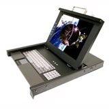 19IN LCD CONSOLE 1U DB15 TO KVM /USB+VGA 8PORT TCHPAD 106KEY ROHS