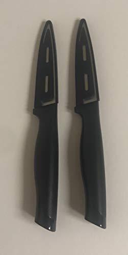 "Tupperware 3 1/2"" Paring Knife, Set of 2"