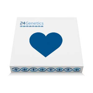 24Genetics - DNA Health Test - 200+ PDF Report - Biomarkers - Traits - Includes