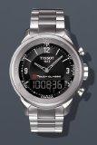 Tissot T0834201105700 Watch T-Touch Classic Mens - Black Dial Stainless Steel Case Quartz Movement
