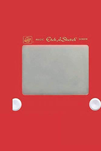 """Etch A Sketch: Design Notebook, Journal for Writing, Size 6"""" x 9"""", 164 Pages"""
