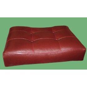MAN Cave 2 29 Red Cushion Saddle Back Bar Stools W Black Legs