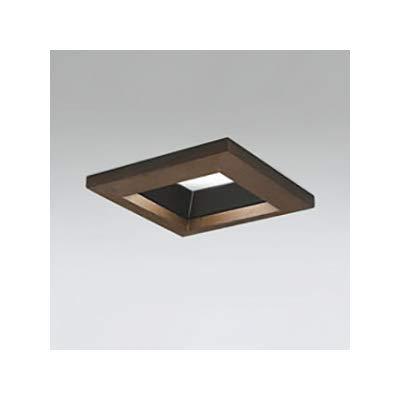 LEDダウンライト SB形 角型 埋込穴□100 白熱灯100W形 拡散配光 連続調光 本体色:木枠(民芸塗)タイプ 5000K B07S1SGCCV