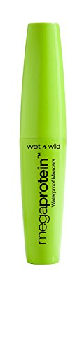 wet n wild Megaprotein Waterproof Mascara, Very Black, 0.27 Fluid Ounce