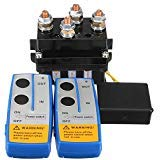 Gyswshh 12V 500A HD Wireless Remote Contactor ,Winch Control Solenoid Twin Recovery Random