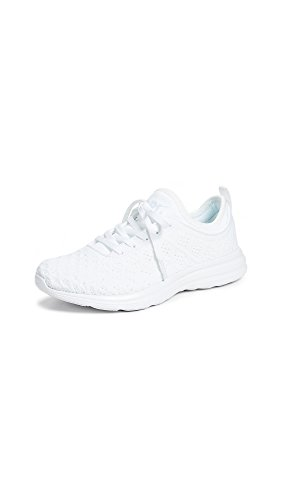 APL: Athletic Propulsion Labs Women's Techloom Phantom Sneakers, White, 8 M US