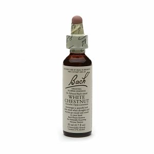 Bach Original Flower Essences, White Chestnut 0.7 fl oz (20 ml)