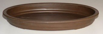 umidity Drip Bonsai Tray Bonsai Pot - Oval 17 0 x 12 0 x 2 0 OD 15 0 x 10 0 x 2 0 ID (Oval Bonsai)