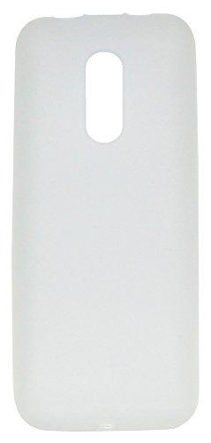 FCS Primium Rubberized Silicon Back Case Cover for Nokia 105 Dual Sim in Matte Finish  White