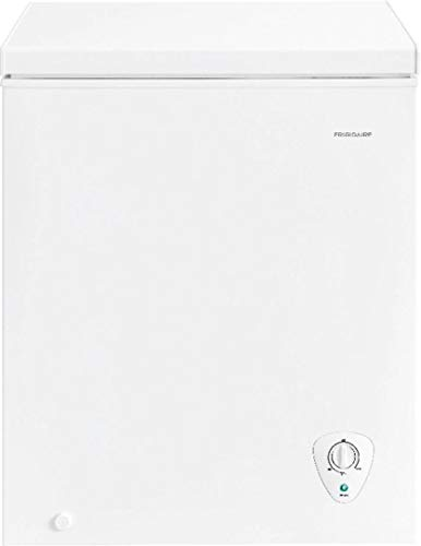 Frigidaire FFFC05M2UW Freezer with 5 cu. ft. Capacity, White Door, Manual Defrost, CSA Certified in White