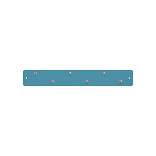 - Three By Three Seattle Mini Magnetic Strip Bulletin Board, Sky Blue (31211)