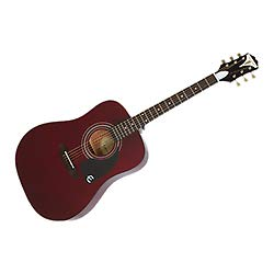 Epiphone 6 String PRO-1 Acoustic Wine Red EAPRWRCH1 by Epiphone (Image #1)