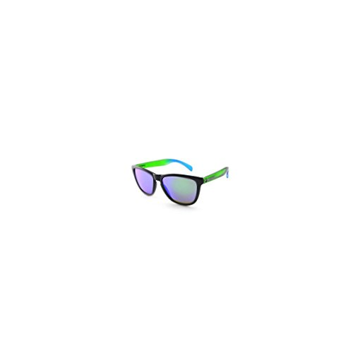 Pepper's MP540-23 Unisex Multi-color Frame Green Mirror Lens - Color Sunglasses Multi