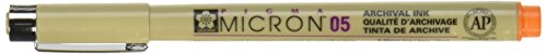 (Pigma Micron Pen .45mm Open Stock-Orange)