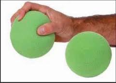 Fabrication Enterprises 10-0821 Foam Ball Exerciser, 3'' Diameter