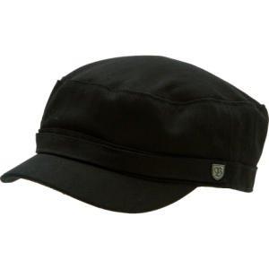 4de90cc3 Brixton Busker Military Hat Black Herringbone Twill, M: Amazon.co.uk:  Clothing