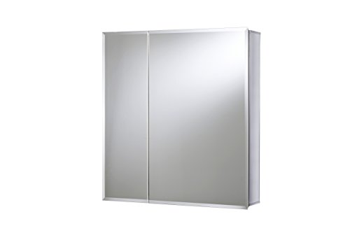 Croydex WC102069AZ Newton Double Door Bi-View Cabinet with Hang 'N' Lock Fitting System, 26