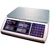 CAS S2JR15L S2000 Jr Series Price Computing Scale, 15lb Capacity, 0.005lb Readability, LCD Display ()