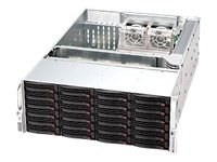 Supermicro SuperChassis 1200W 4U Rackmount Server Chassis CSE-846A-R1200B