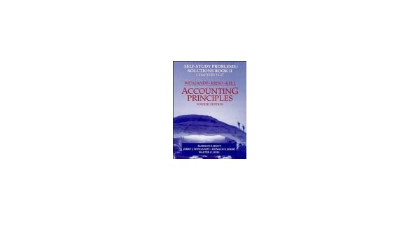 Amazon accounting principles self study problemssolutions amazon accounting principles self study problemssolutions book 2 9780471111351 jerry j weygandt donald e kieso walter g kell books fandeluxe Gallery